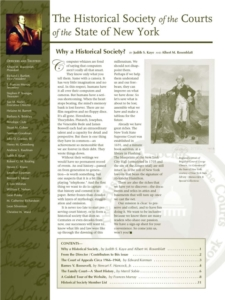 Cover of Judicial Notice Issue 1