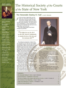Cover of Judicial Notice Issue 2