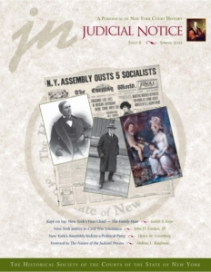 Cover of Judicial Notice Issue 8