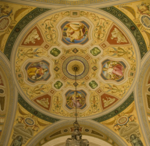 Ceiling at New York County Courthouse, 60 Centre St.
