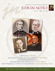 Cover of Judicial Notice Issue 10