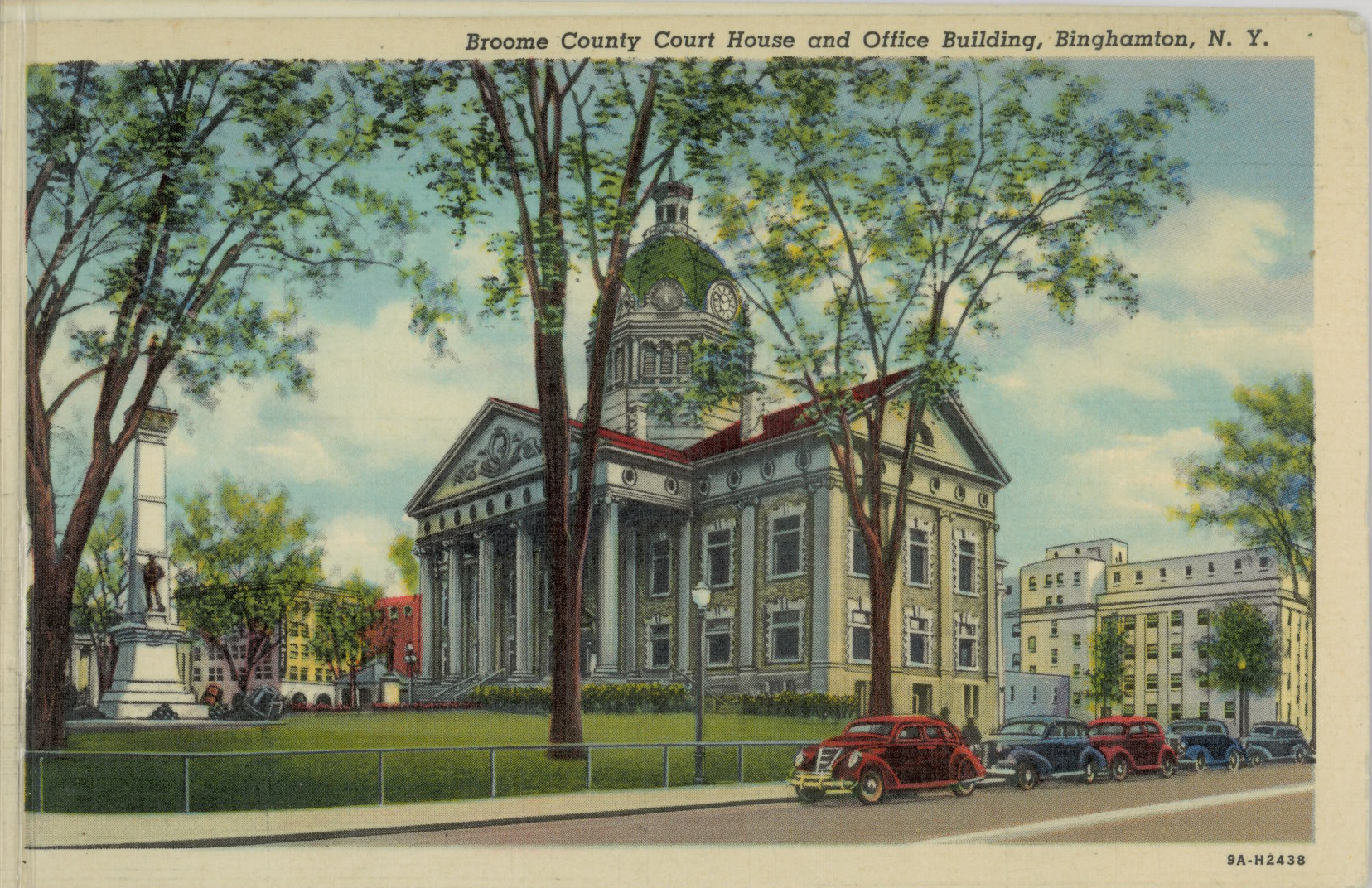 Historic Postcards of New York County Courthouses