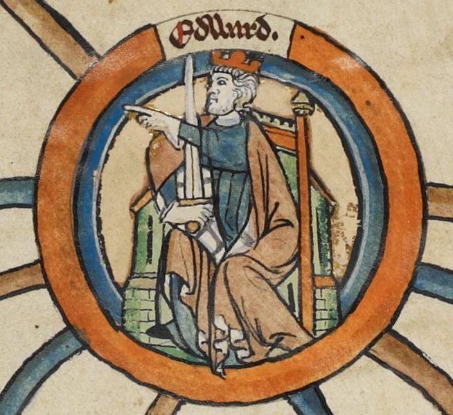 Edward the Elder. Courtesy the British Library