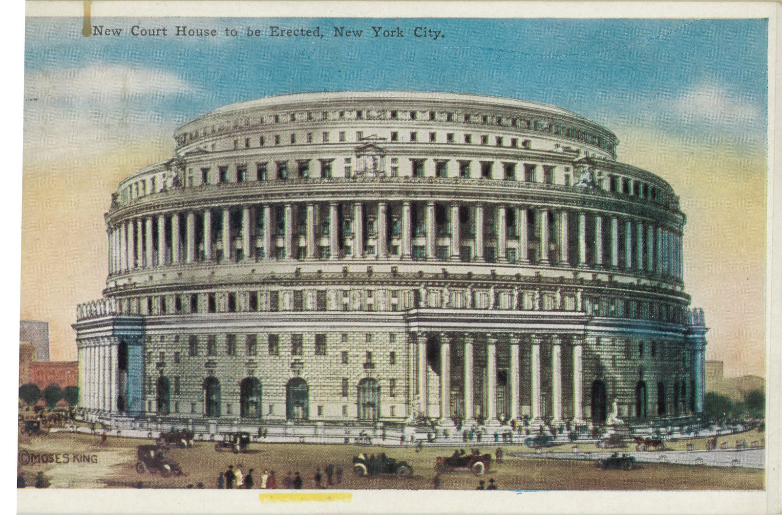New York County Courthouse (Original Design)