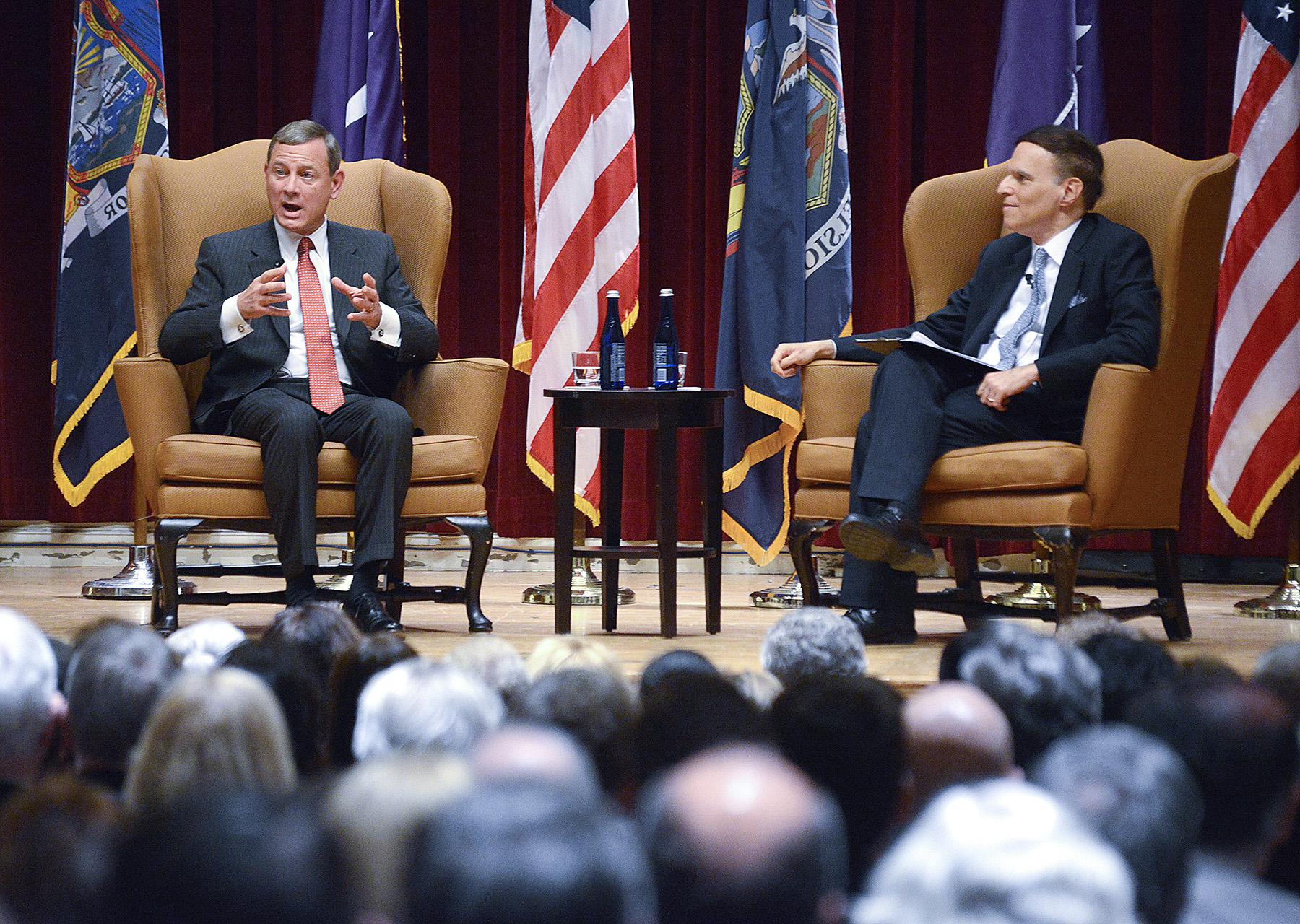 Event Recap: Chief Justice John Roberts on Charles Evans Hughes