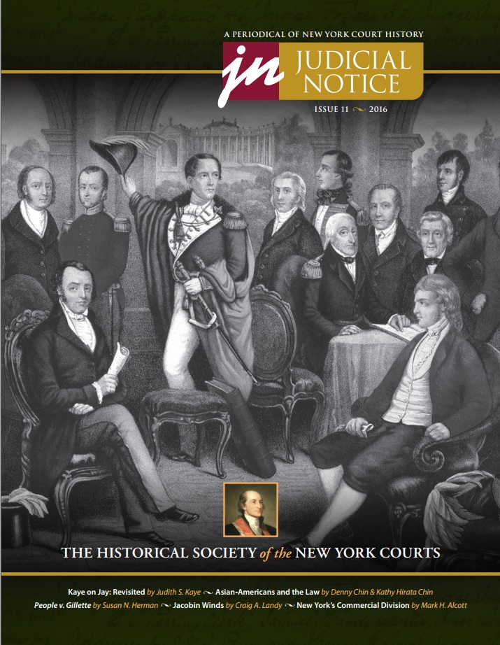 Cover of Judicial Notice Issue 11