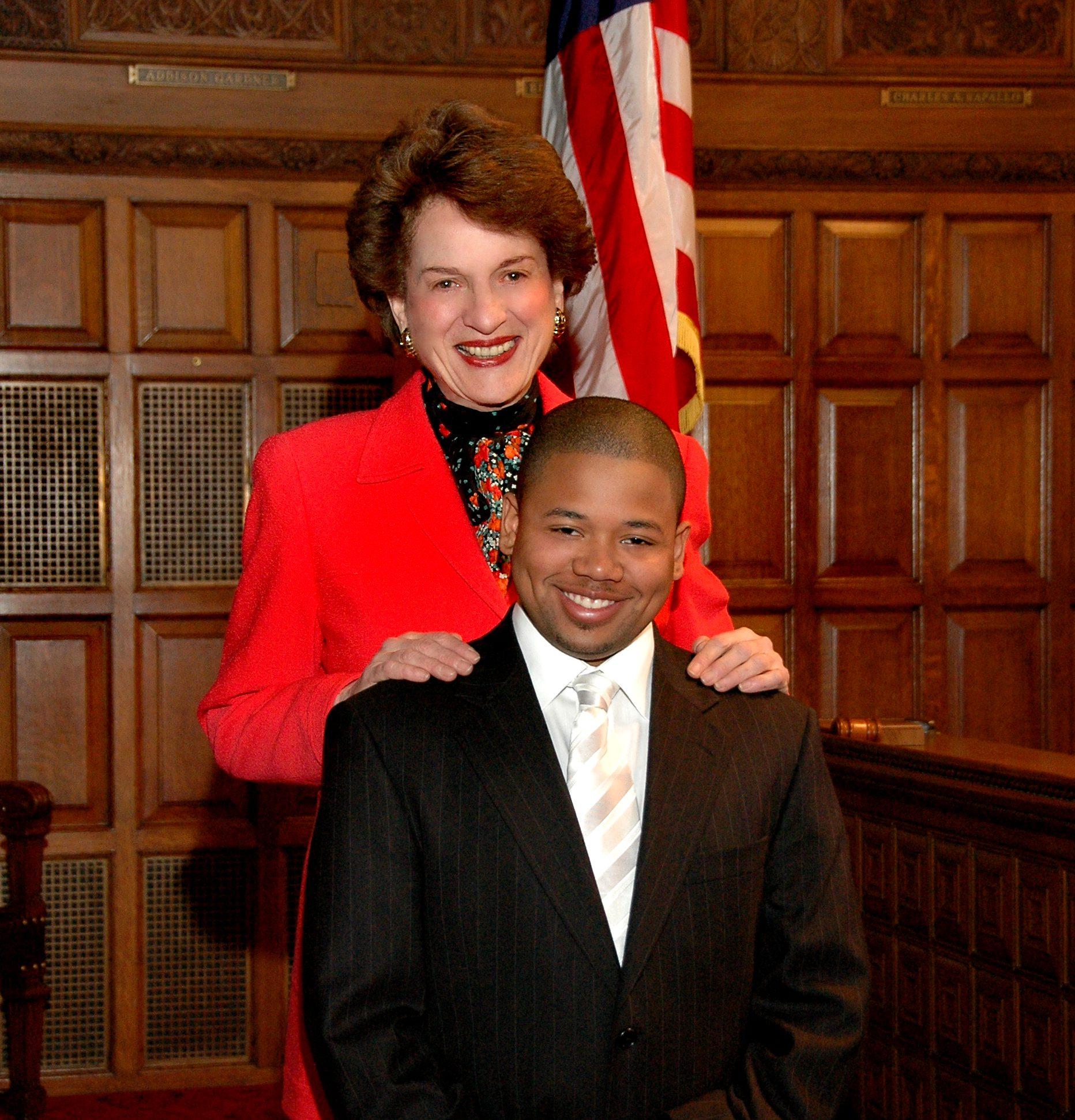 Judith S. Kaye and Elijah Fagan-Solis