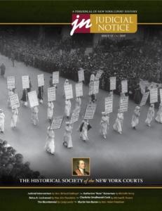 Judicial Notice, Issue 12 cover