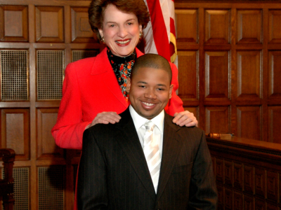 Hon. Judge S. Kaye & Elijah Fagan-Solis