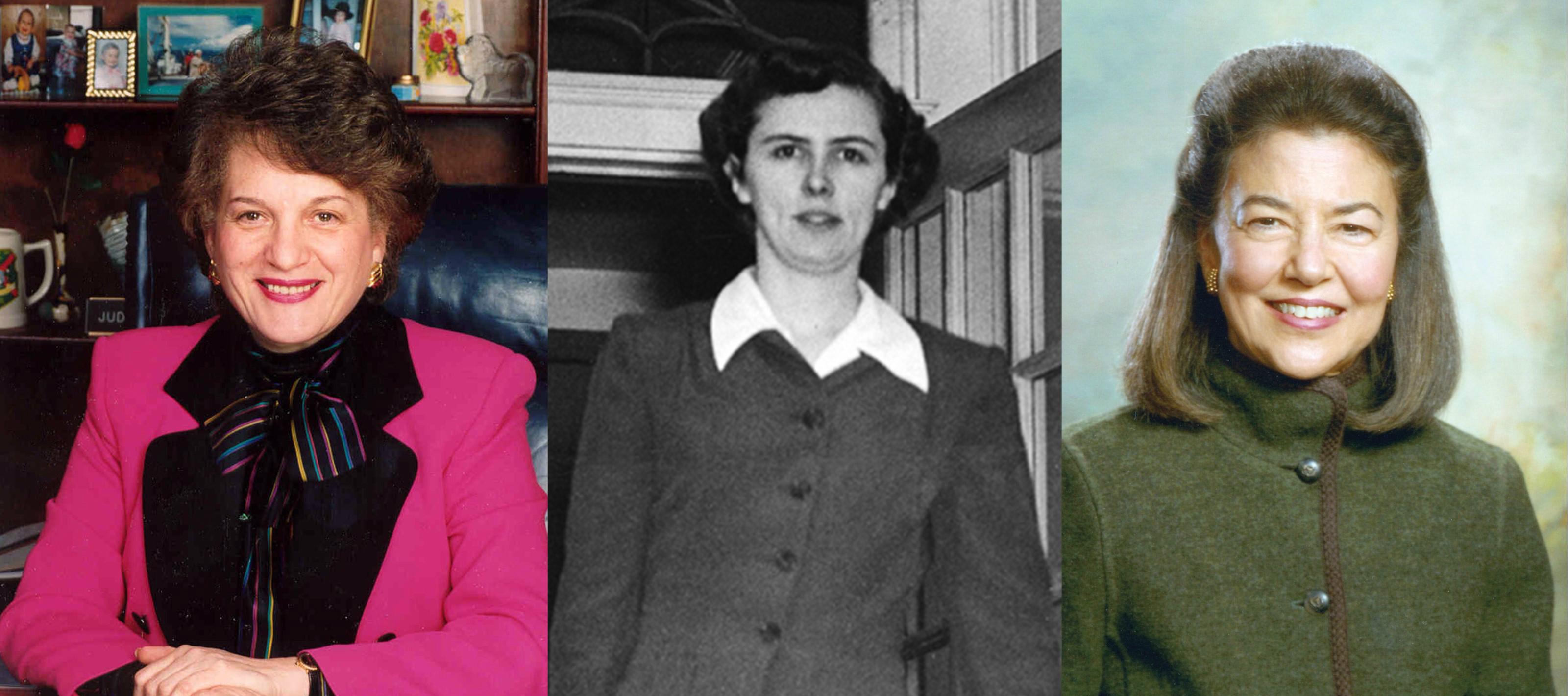 Hon. Judith S. Kaye, Charlotte Smallwood-Cook, and Helaine M. Barnett
