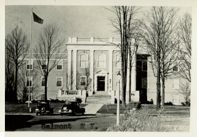 Alleghany County Court House 1938