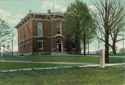 Alleghany County Court House 1859