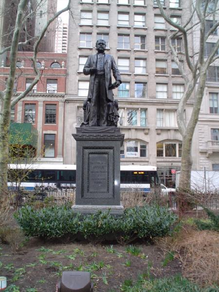 Arthur Chester Statue