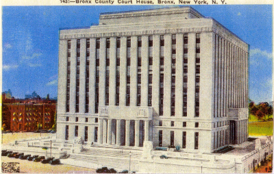 First Bronx County Courthouse 1914