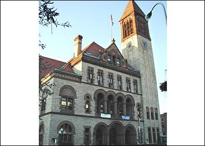 1883 Albany City Hall