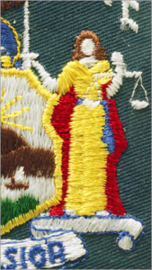 NYS Court Officer's Vintage Patch