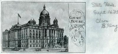 Onondaga County Courthouse 1907