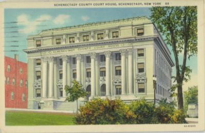 Schenectady County Courthouse 1913