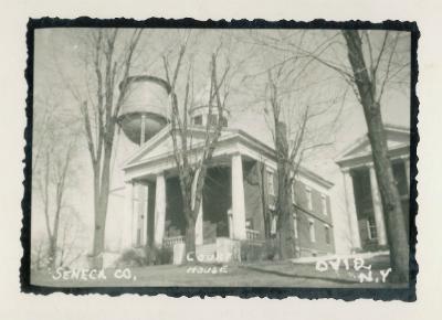 Seneca County Courthouse Ovid NY