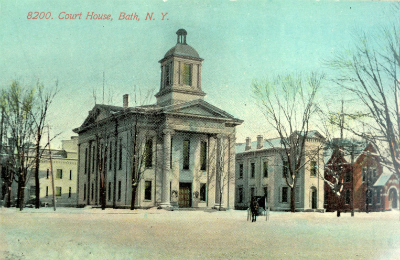 Steuben County Courthouse Bath NY