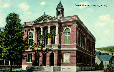 Steuben County Courthouse Hornell NY