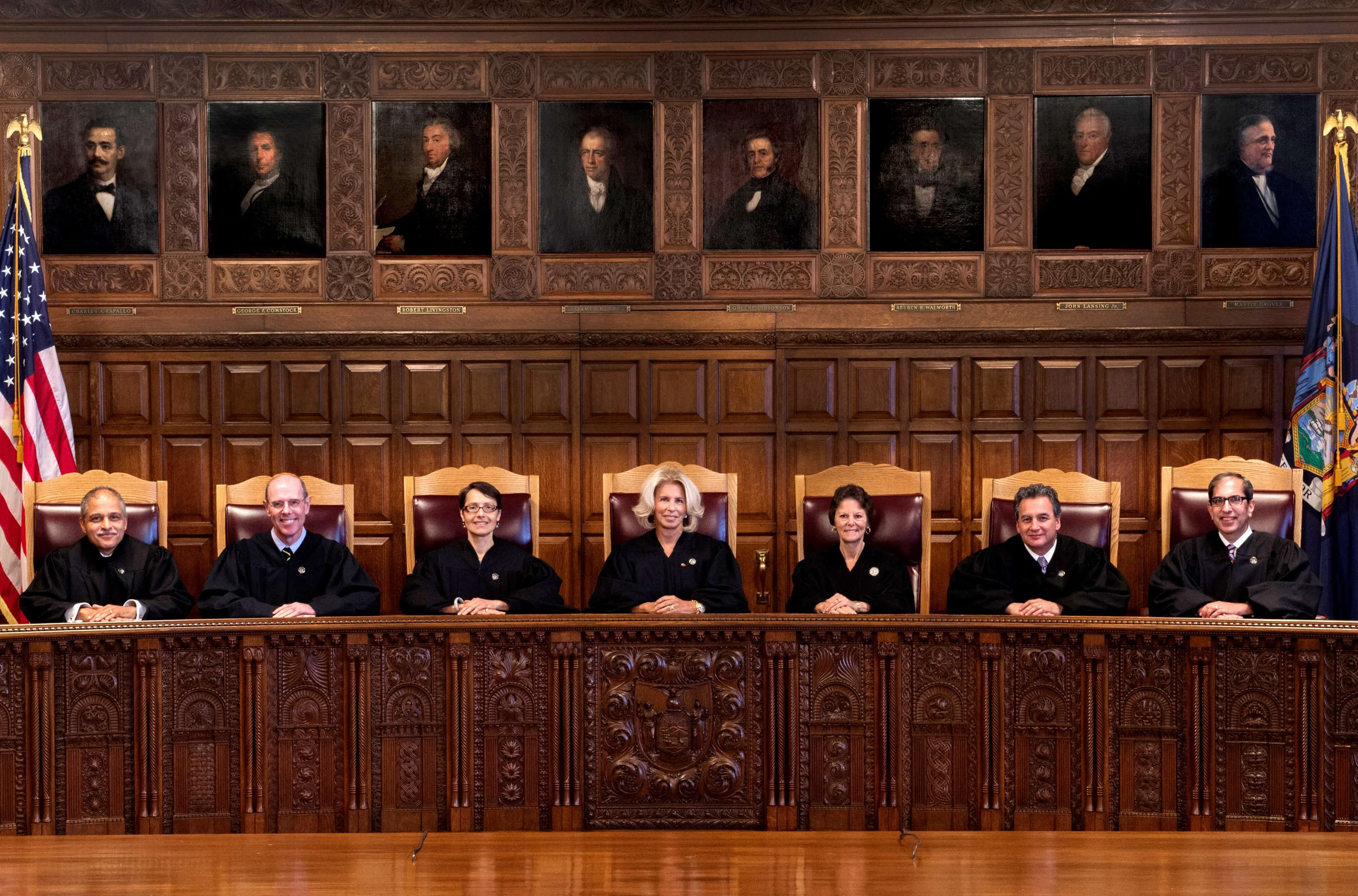 The Bench of the Court of Appeals, 2017