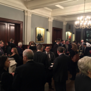 2016 JSK Program pre-event reception