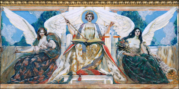 Lady Justice in the Appellate Division, First Department