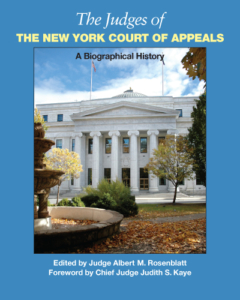 Cover of The Judges of the New York Court of Appeals