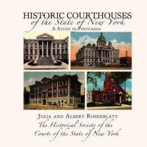 Cover of Historic Courthouses of the State of New York