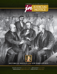 Cover of Judicial Notice Issue 13