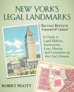 Cover of New York Legal Landmarks
