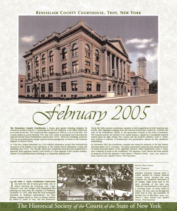 2005 Calendar: February