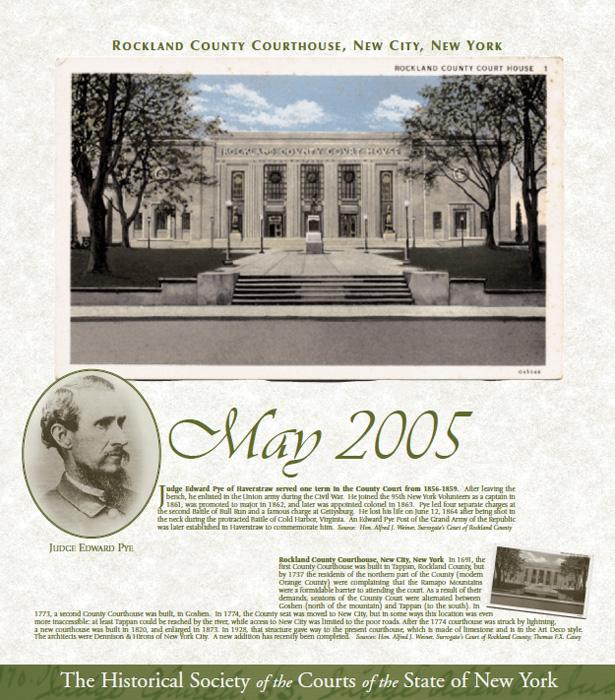 2005 Calendar: May