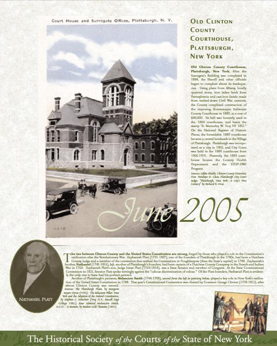 2005 Calendar: June