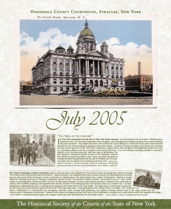 2005 Calendar: July