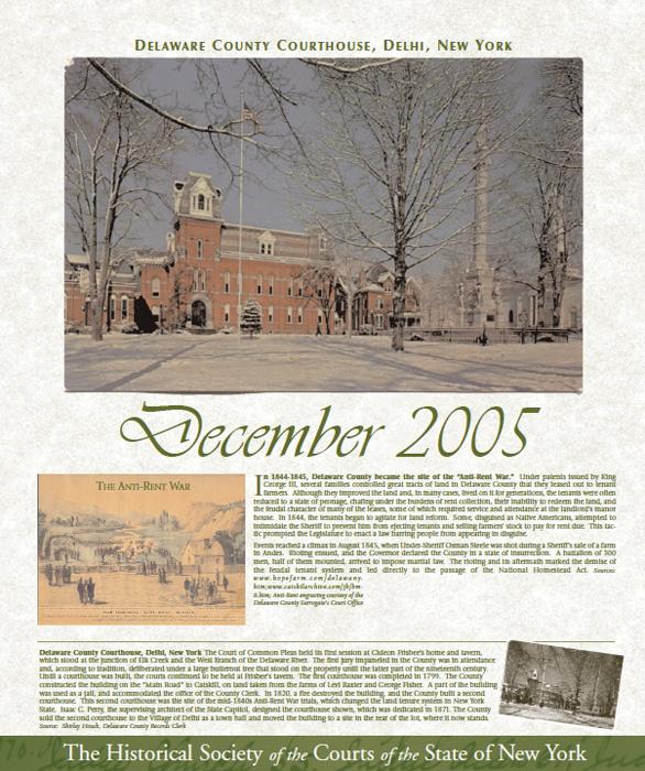 2005 Calendar: December