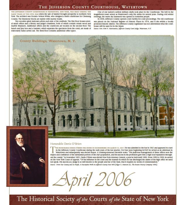 2006 Calendar: April