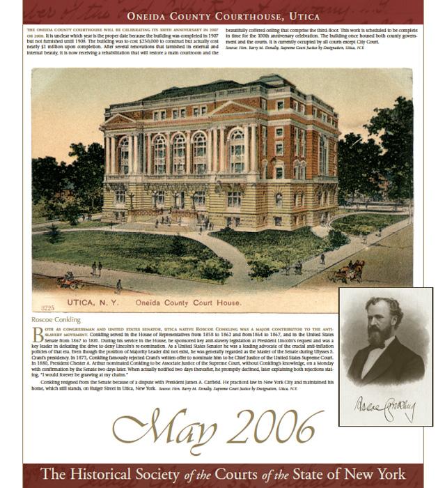 2006 Calendar: May