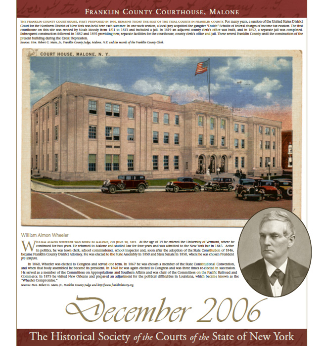 2006 Calendar: December
