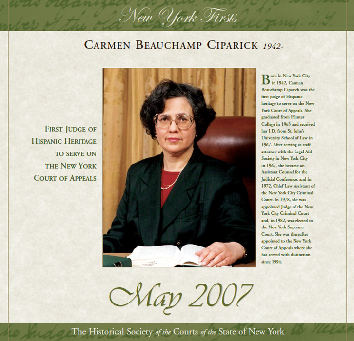 2007 Calendar: May