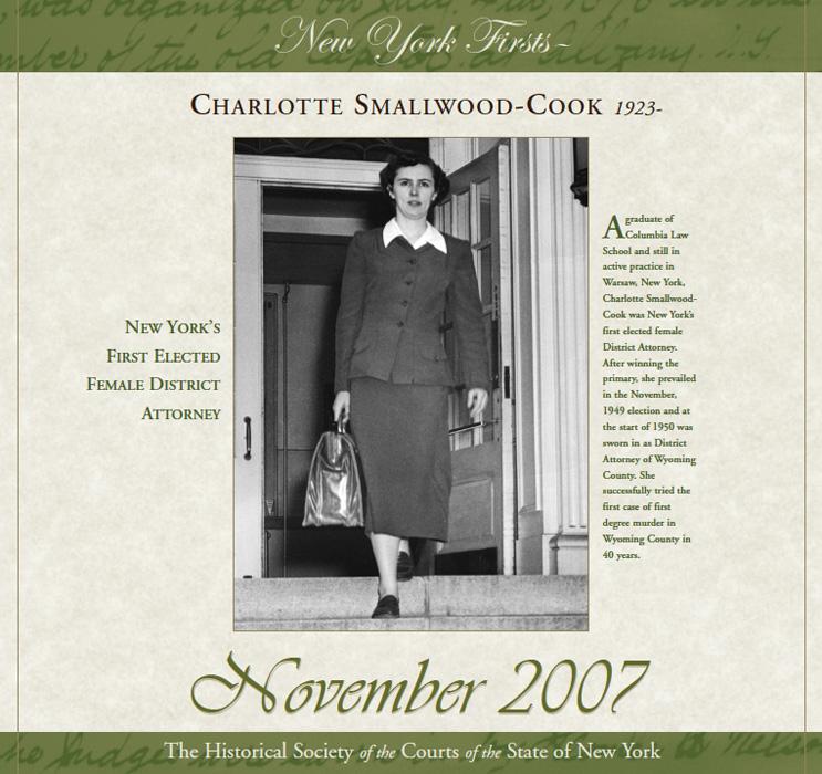 2007 Calendar: November