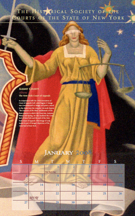 2008 Calendar: January