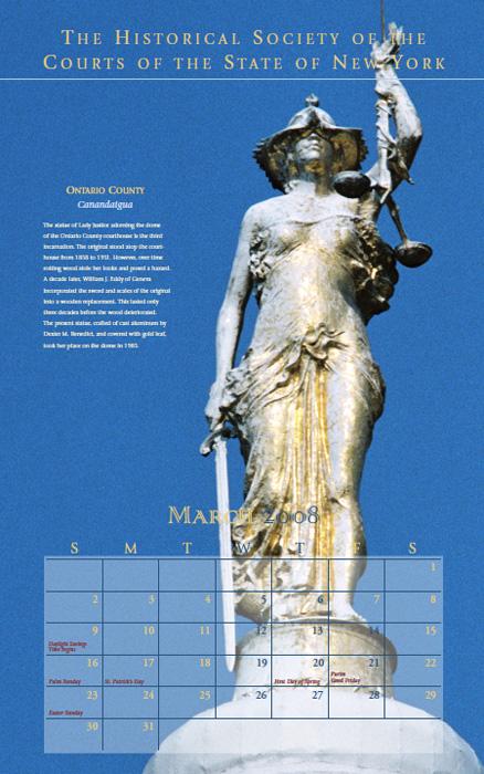 2008 Calendar: March