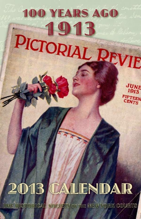 2013 Calendar: Cover