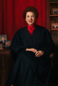 Portrait of Hon. Judith S. Kaye at the NYS Court of Appeals