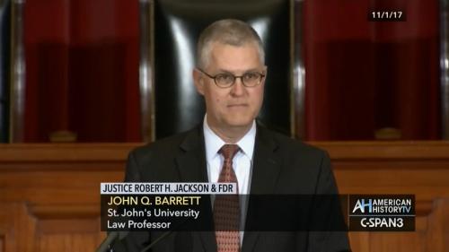 Prof. John Q. Barrett
