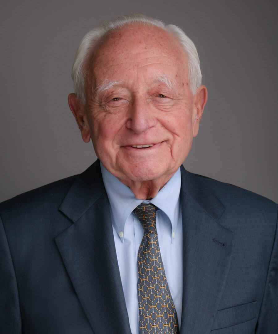 Portrait of Milton Mollen