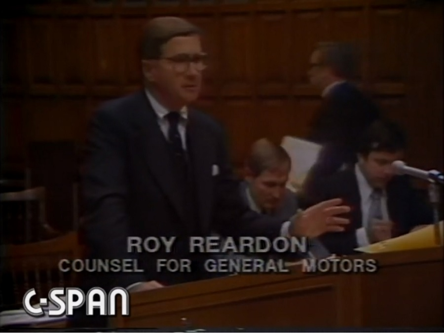 Roy Reardon at the Court of Appeals