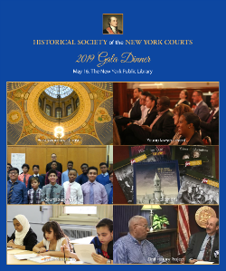 2019 Gala Program Book Cover